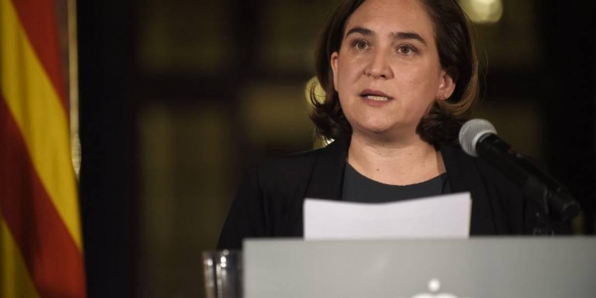"""Alcaldesa de Barcelona: """"Los resultados del referéndum no pueden ser un aval para la independencia"""""""