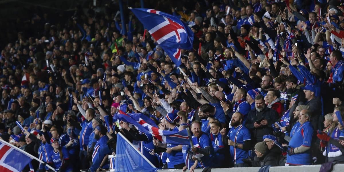 VIDEO: La celebración de Islandia también pasará a la historia