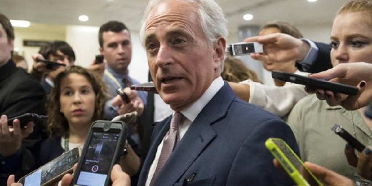 Trump critica a Corker, pero el senador contraataca
