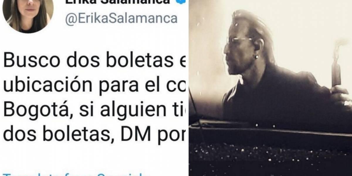 La fiel seguidora de Uribe que fue por lana y salió trasquilada del concierto de U2