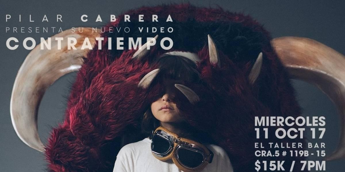 En concierto Pilar Cabrera presentará oficialmente su canción 'Contratiempo'