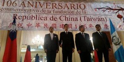 Celebran 106 aniversario República de China Taiwán