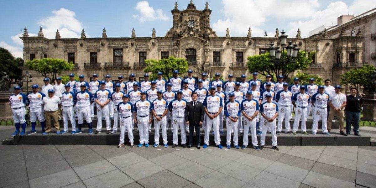 Charros de Jalisco se tomó la foto oficial con el gobernador