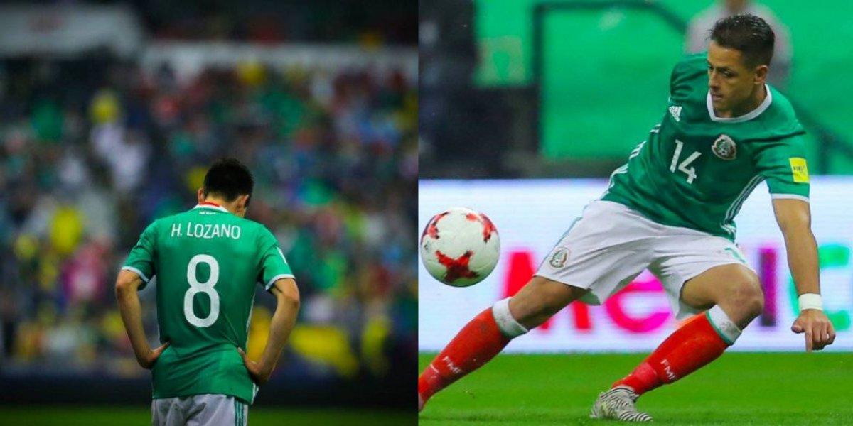 La selección mexicana sufrirá dos bajas significativas