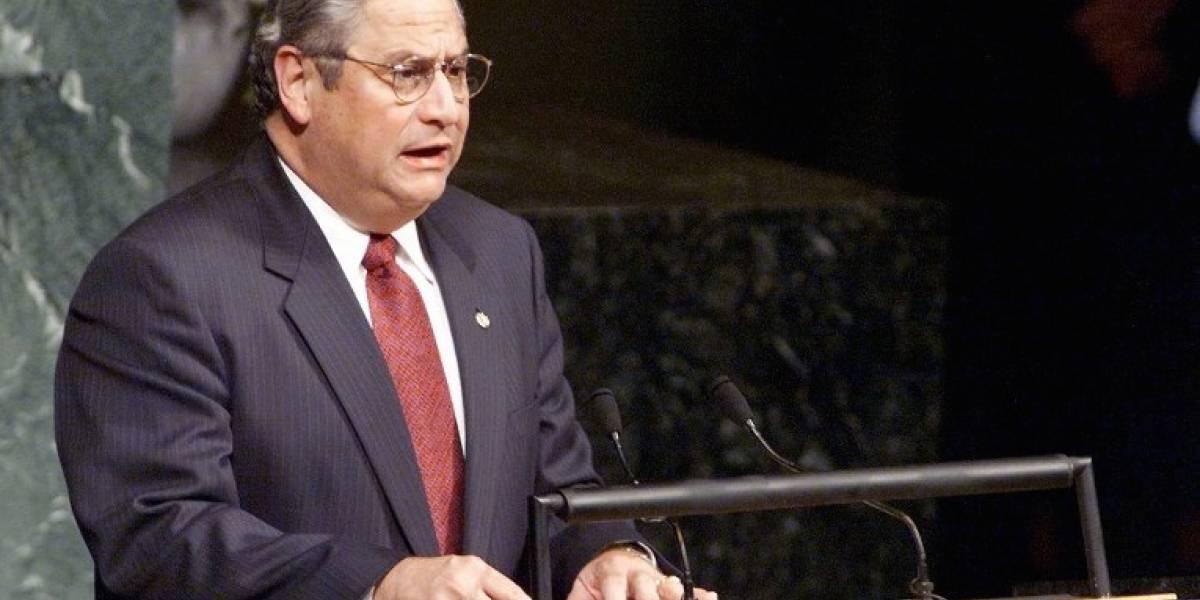 Fallece el expresidente salvadoreño Armando Calderón Sol