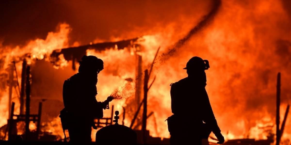 EN IMÁGENES. Incendios arrasan la región del vino de California