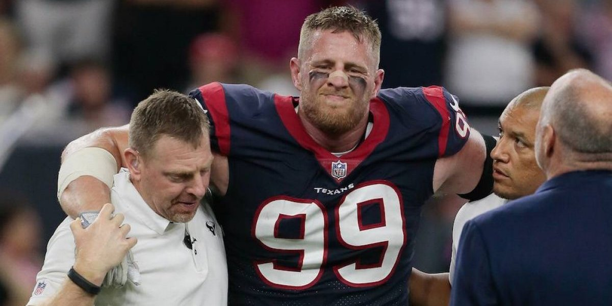 ¡Terribles noticias! Texans pierden a su astro JJ Watt por fractura de pierna