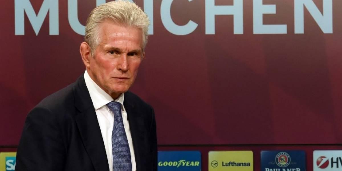 """Heynckes en su presentación con el Bayern: """"Yo no quería entrenar más"""""""