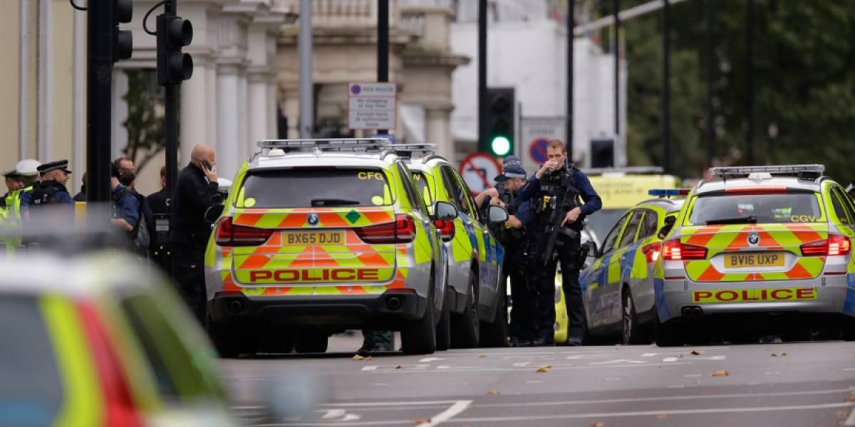 En libertad hombre que atropelló varias personas en Londres