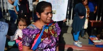 Manifestación vendedores del Hospital San Juan de Dios