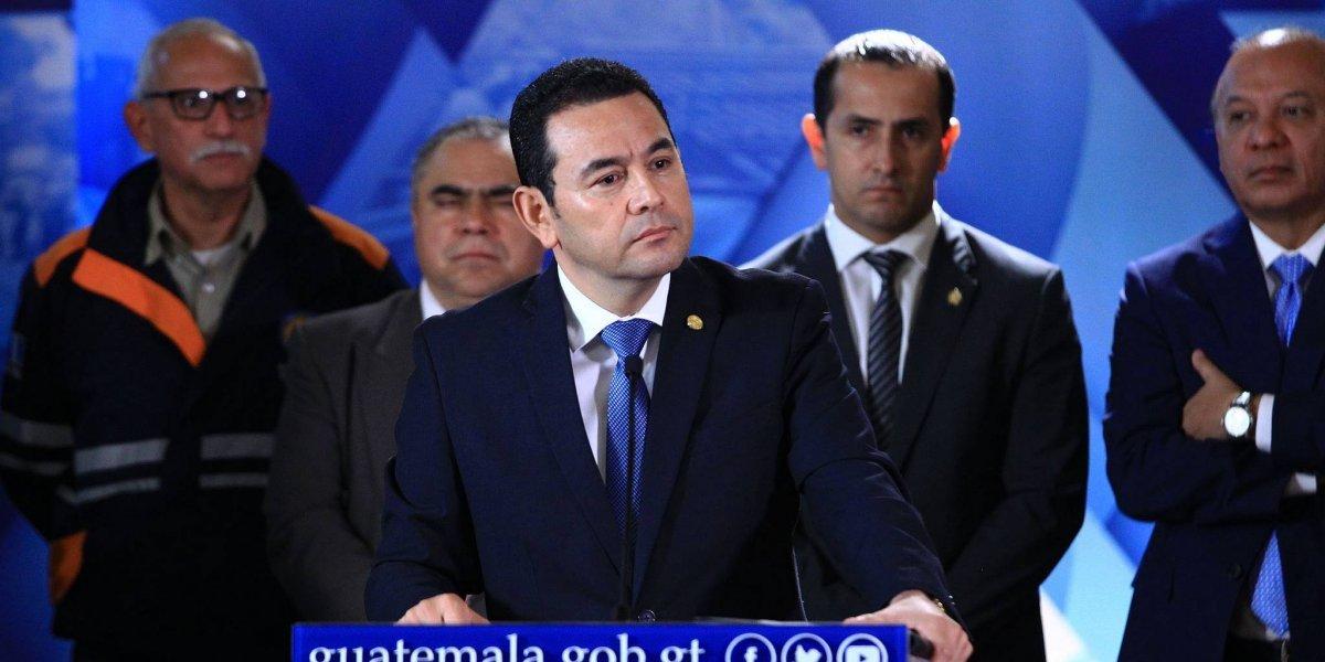 CSJ rechaza antejuicios en contra del presidente Jimmy Morales
