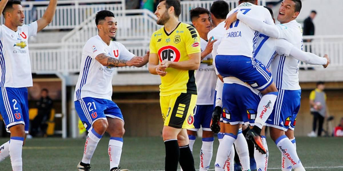 Así vivimos el electrizante empate entre la U y San Luis por Copa Chile