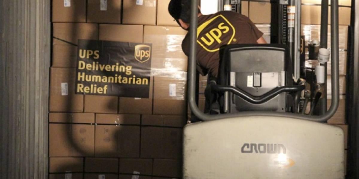UPS reanuda servicios en la isla