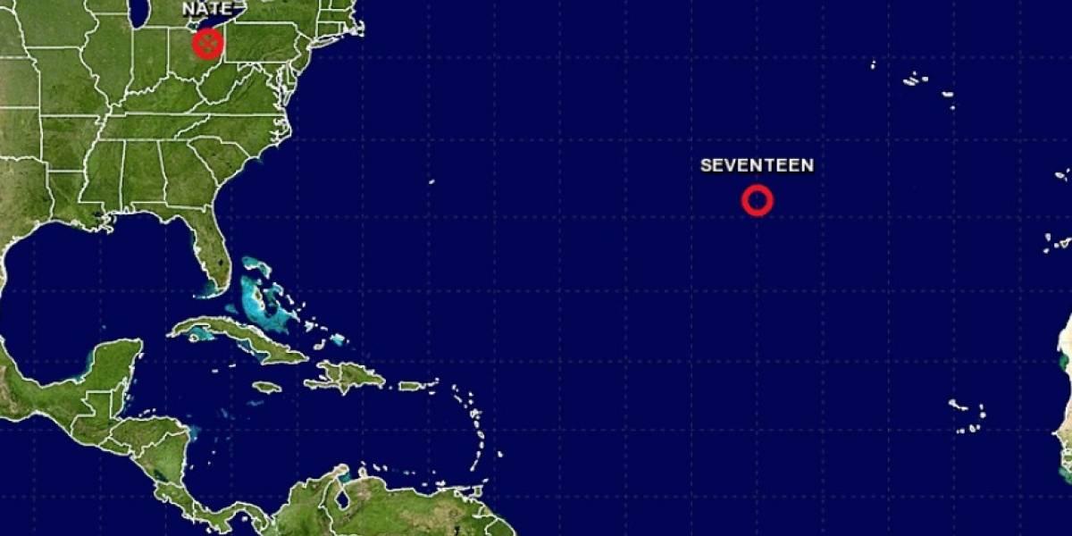 Se forma la tormenta Ophelia en el Atlántico