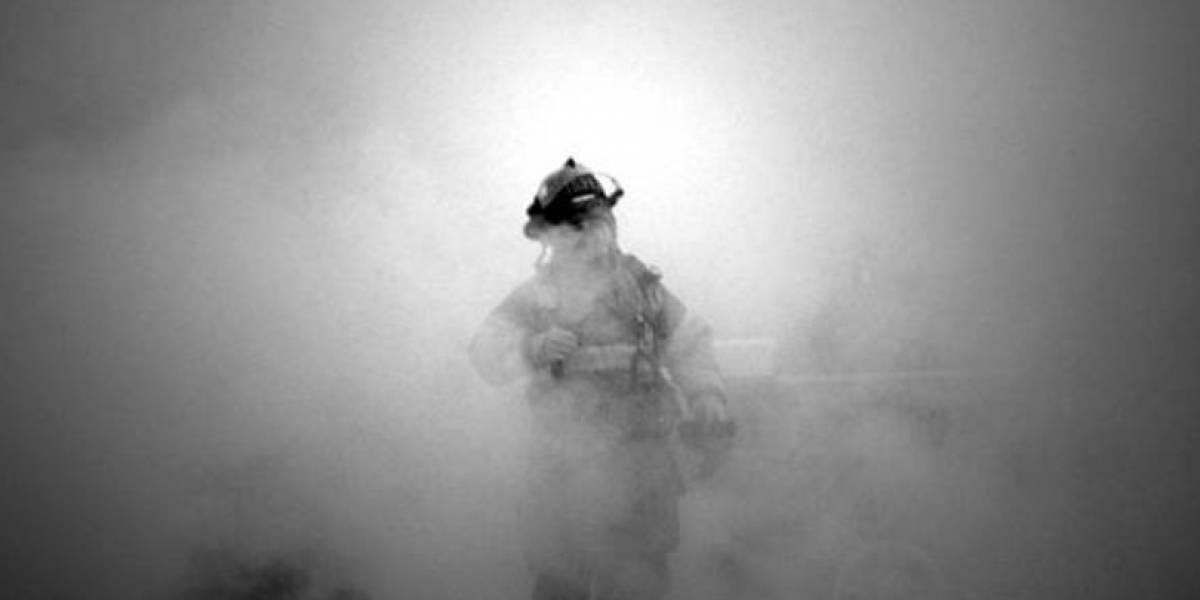 Bombero muere en incendio en empresa de Guadalupe, Nuevo León