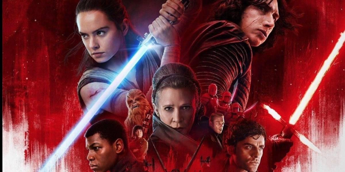 """Revelan nuevo póster de """"Star Wars: El último Jedi"""""""