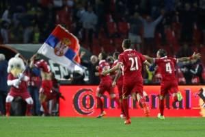 Serbia celebra clasificación al Mundial de Rusia 2018