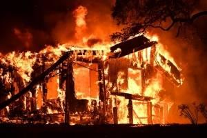 california incendio