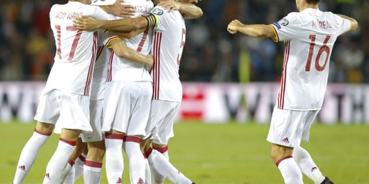 España recupera la confianza de cara al Mundial