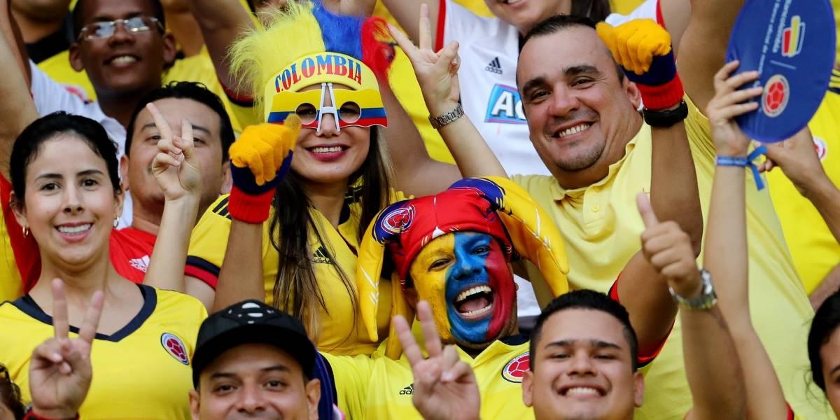 Operativo de seguridad en Bogotá durante el partido de Colombia vs Perú