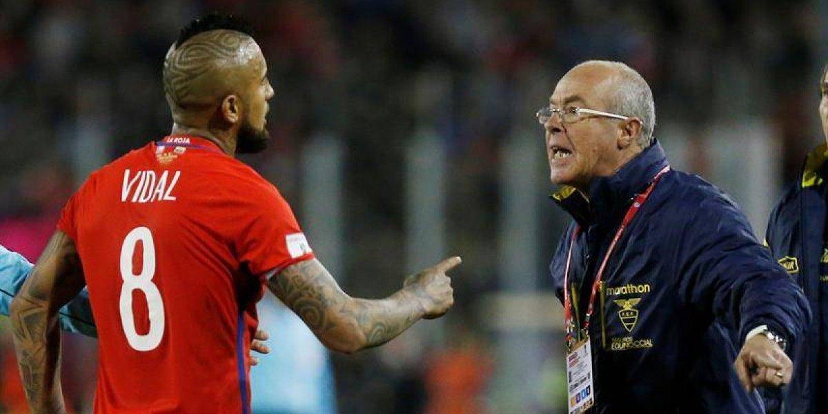Arturo Vidal deja sin entrenador a Ecuador para duelo clave con Argentina