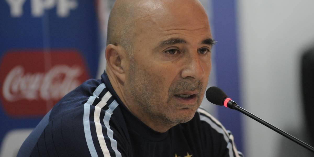 Sampaoli: Argentina ganó con gran autoridad en la altura