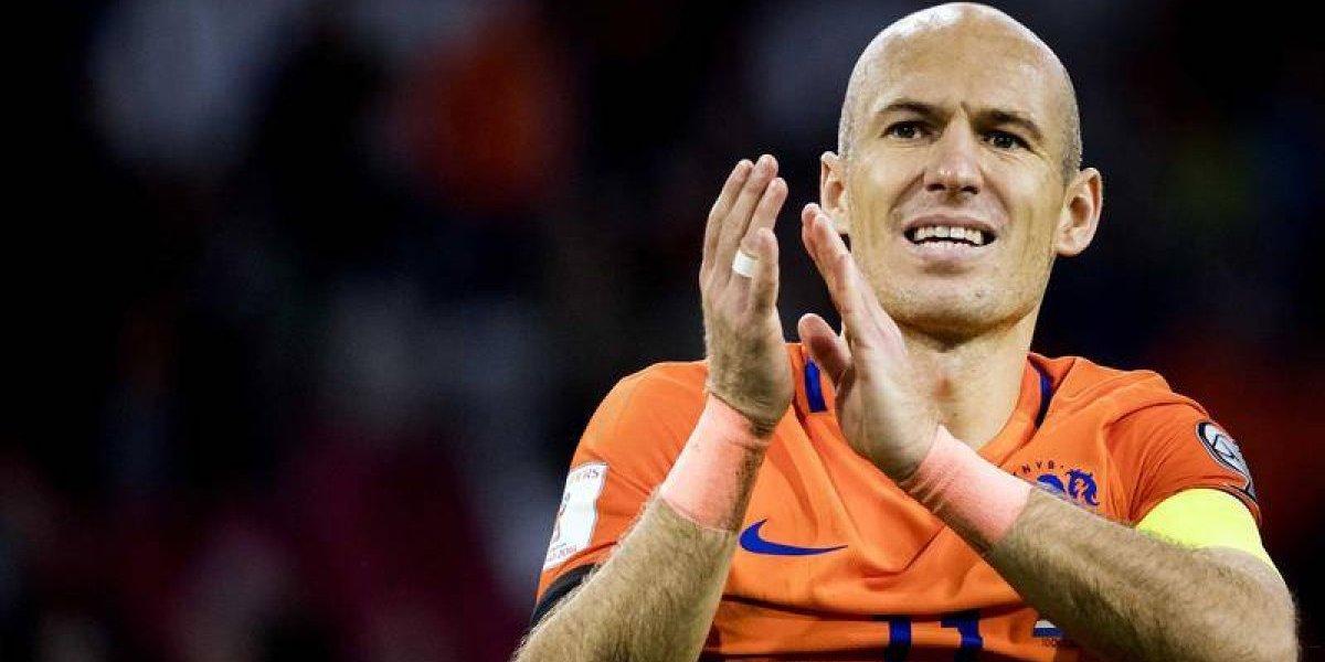 """Robben se va de la selección de Holanda: """"Es el momento de las nuevas generaciones"""""""