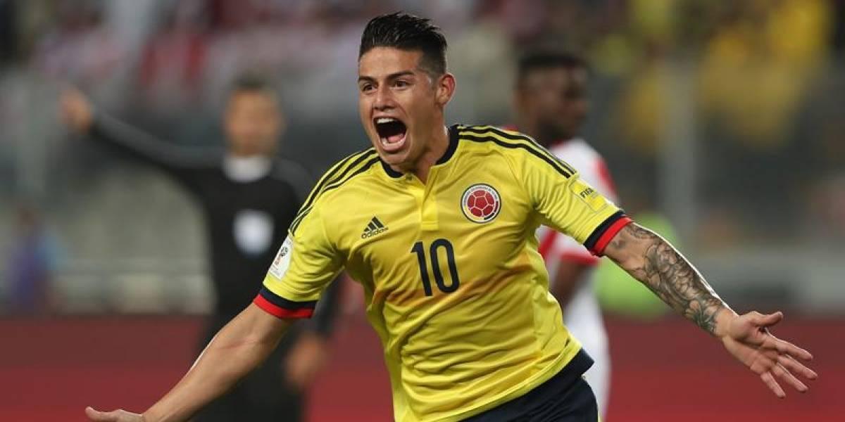 El emotivo mensaje de James Rodríguez después de la clasificación de Colombia al mundial