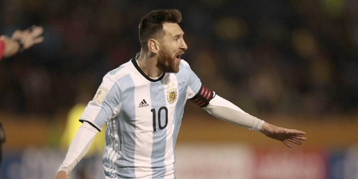 ¡Messias! Lionel metió a Argentina en Rusia 2018