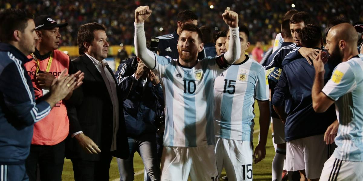Messi salva a Argentina, que con Brasil, Uruguay y Colombia son felices los 4