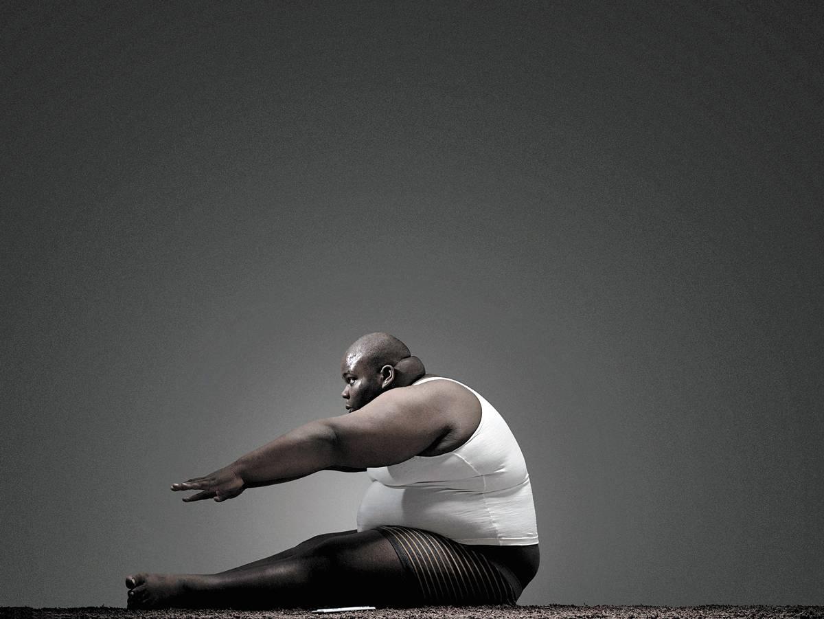obeso gordinho exercício