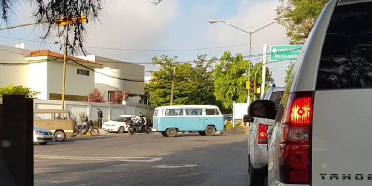 Persecución policiaca causa alarma en Colinas de San Javier