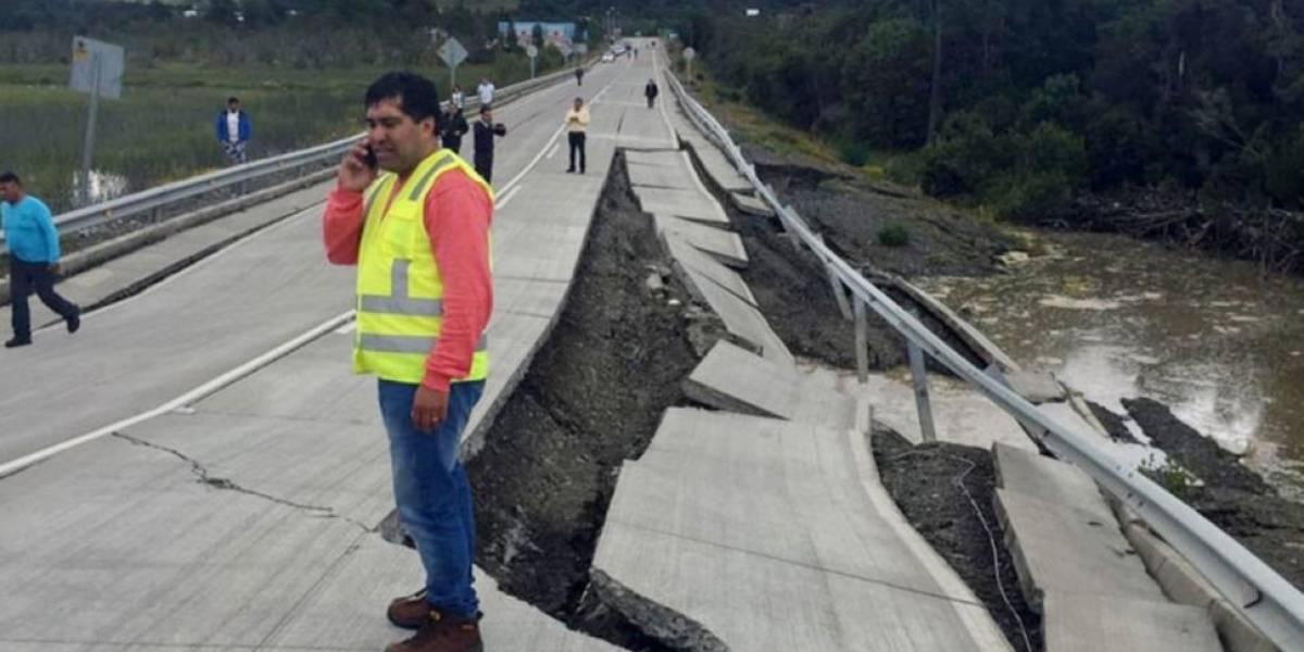 Alarma y algunos daños tras sismo de 6,3 grados en el norte de Chile