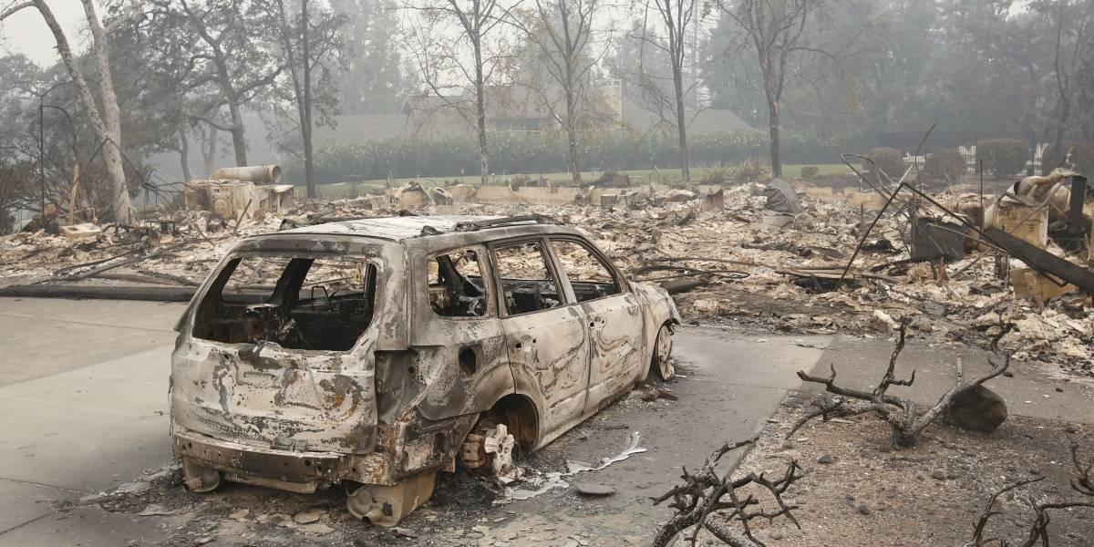 Sube a 15 número de fallecidos por incendios en California