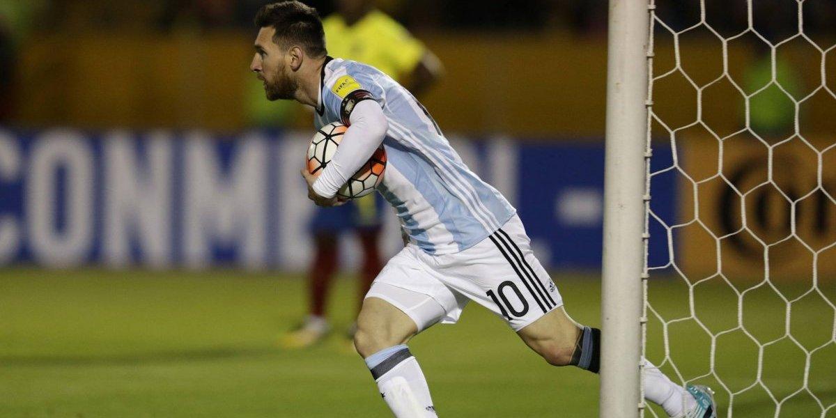 Argentina vence 3-1 a Ecuador y clasifica al Mundial de Rusia 2018