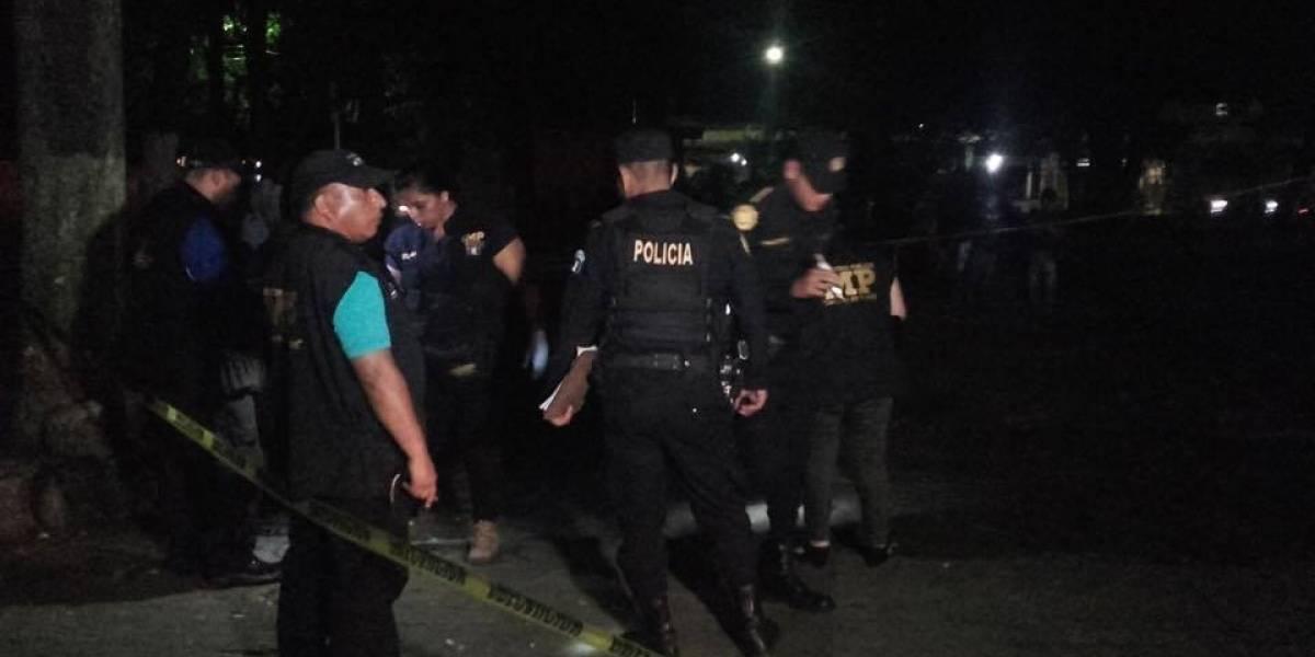 Atacan sede de Policía Municipal en Retalhuleu; dos agentes mueren