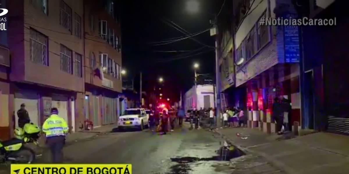 Falsos policías se metieron a hotel del centro de Bogotá y tomaron rehenes