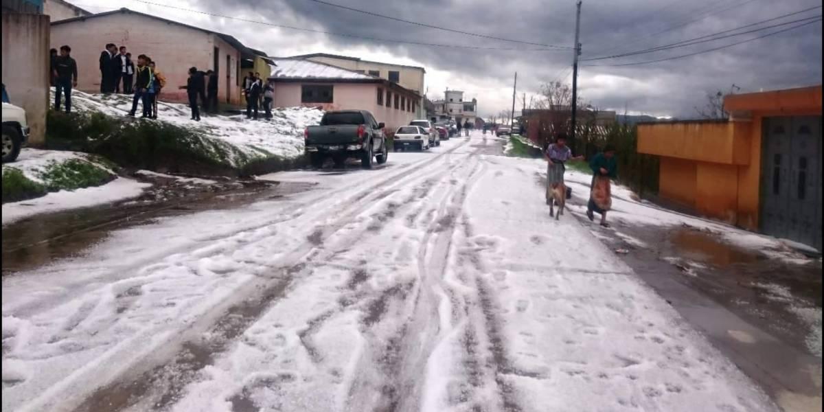 Tormentas con granizo podrían registrarse en la capital, según Insivumeh