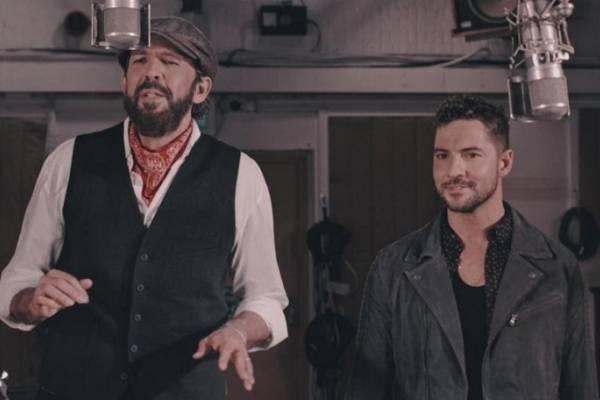 David Bisbal y Juan Luis Guerra