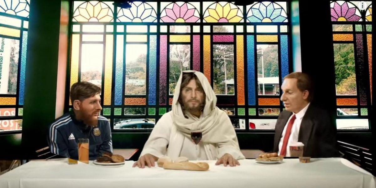 Messi visitó a Jesucristo y esta fue la respuesta del Hijo de Dios, ¿clasifican?