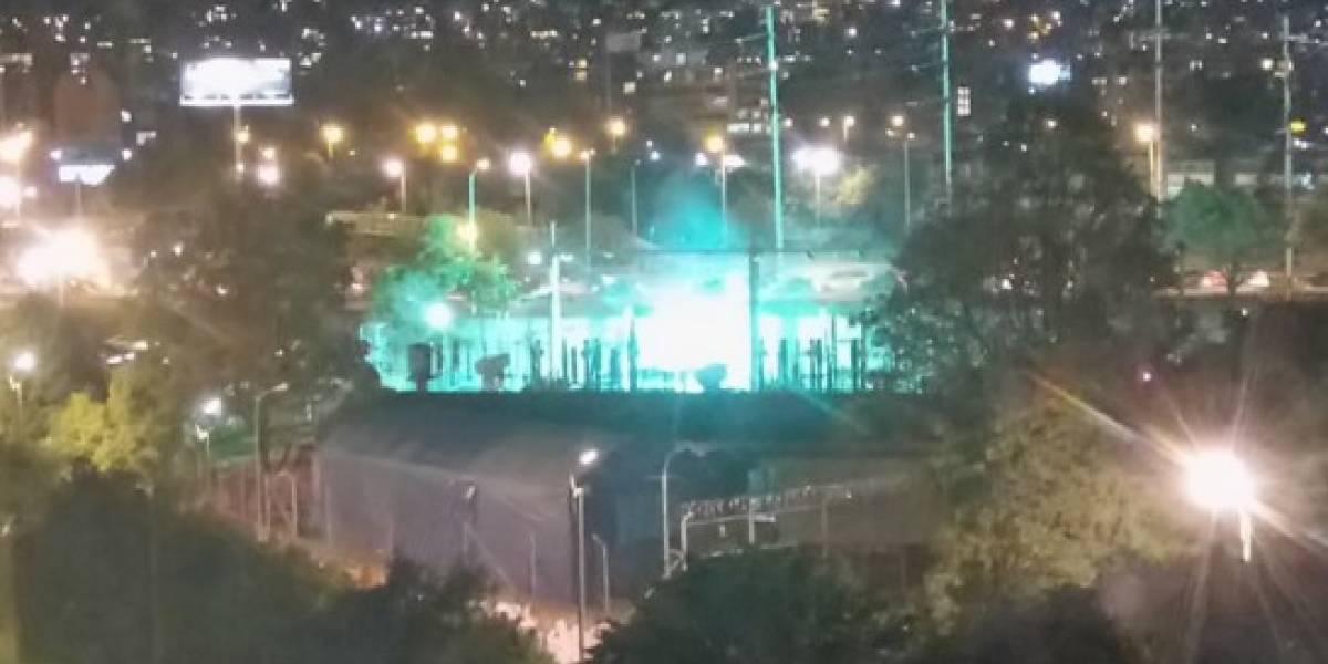 Usuarios en redes reportan explosión de transformador de energía en el norte de Bogotá