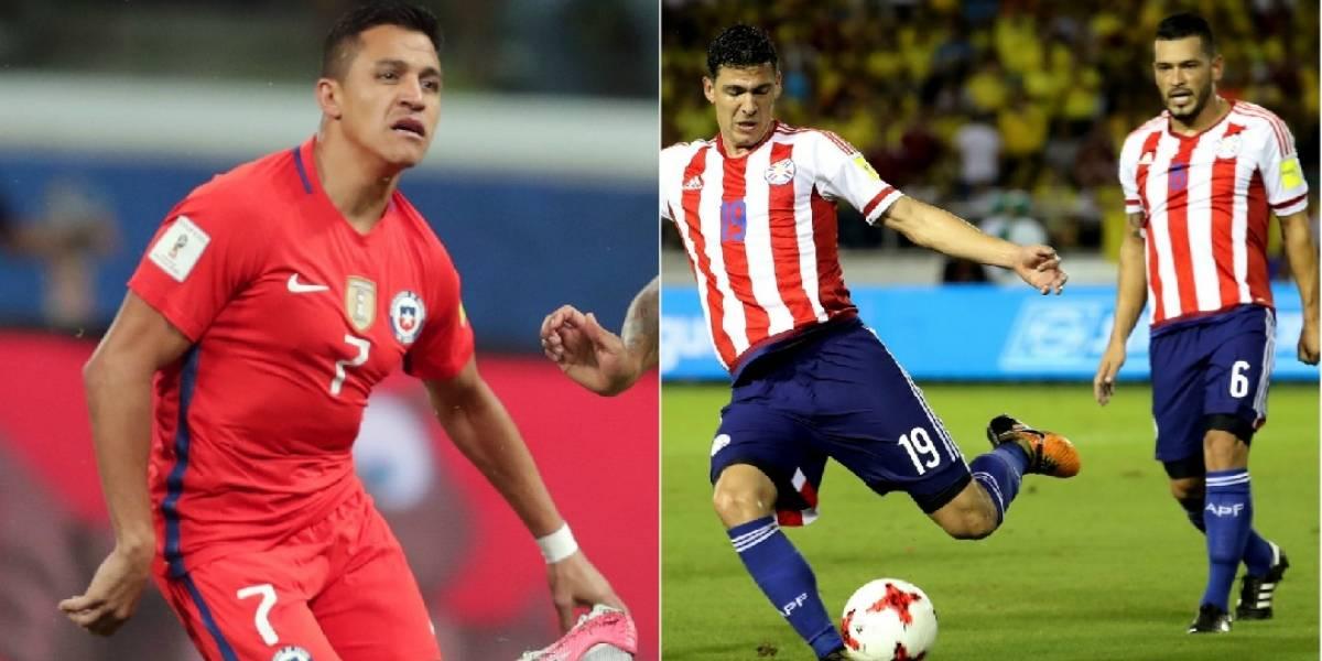 Chile y Paraguay, a mirar el Mundial por televisión