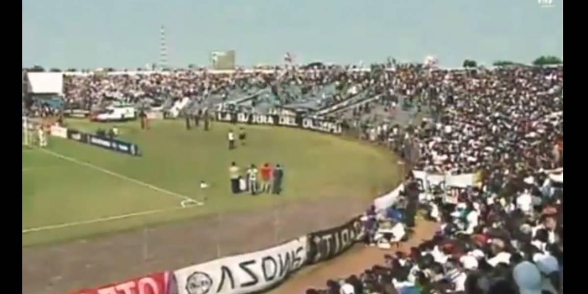 VIDEO: Batalla campal en las tribunas deja varios heridos