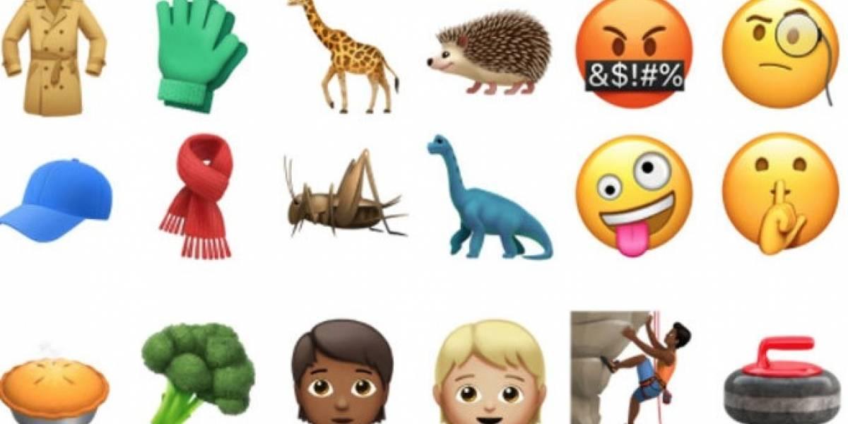 Estos son los nuevos emojis de Apple