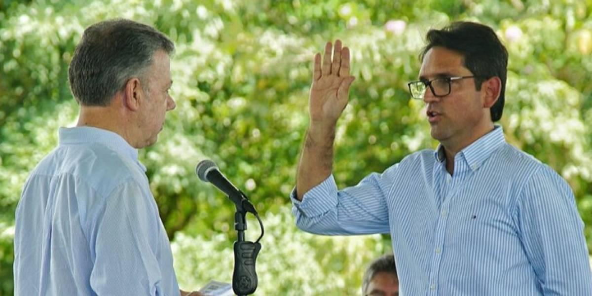 Juan Guillermo Zuluaga asume el cargo de ministro de Agricultura