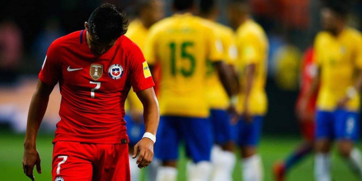 Brasil golea a Chile y lo deja fuera del Mundial