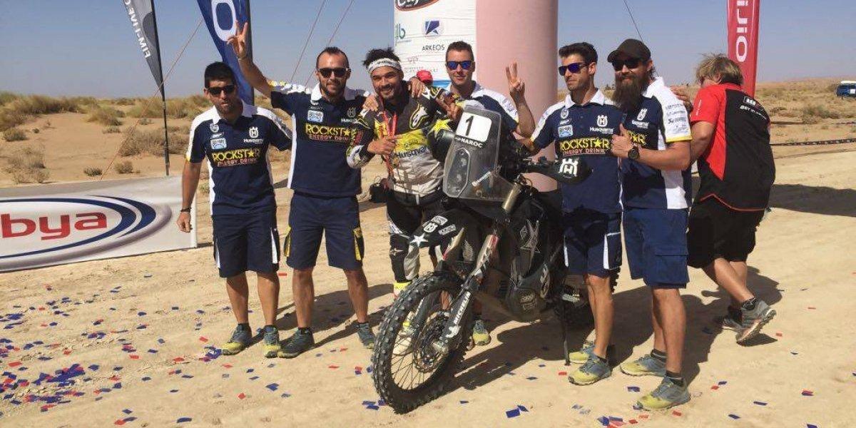 Pablo Quintanilla entra a la historia del deporte al coronarse bicampeón mundial de Rally Cross Country
