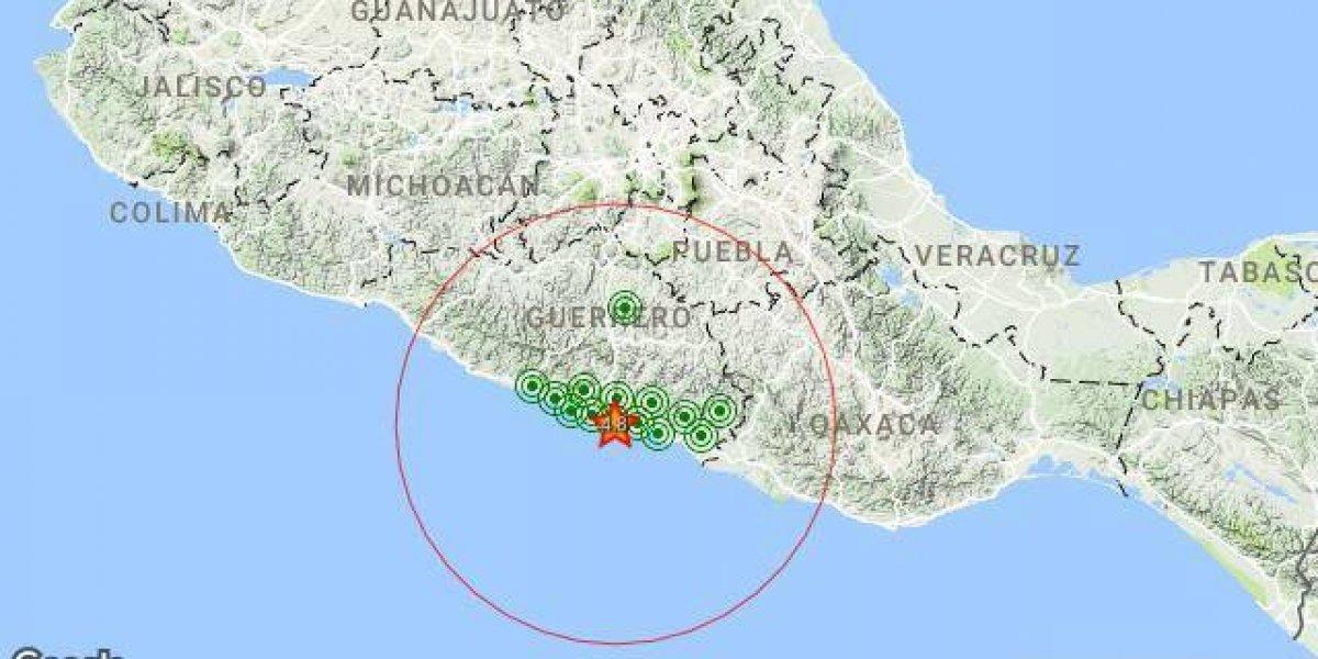 Se registra sismo magnitud 4.8 en San Marcos, Guerrero