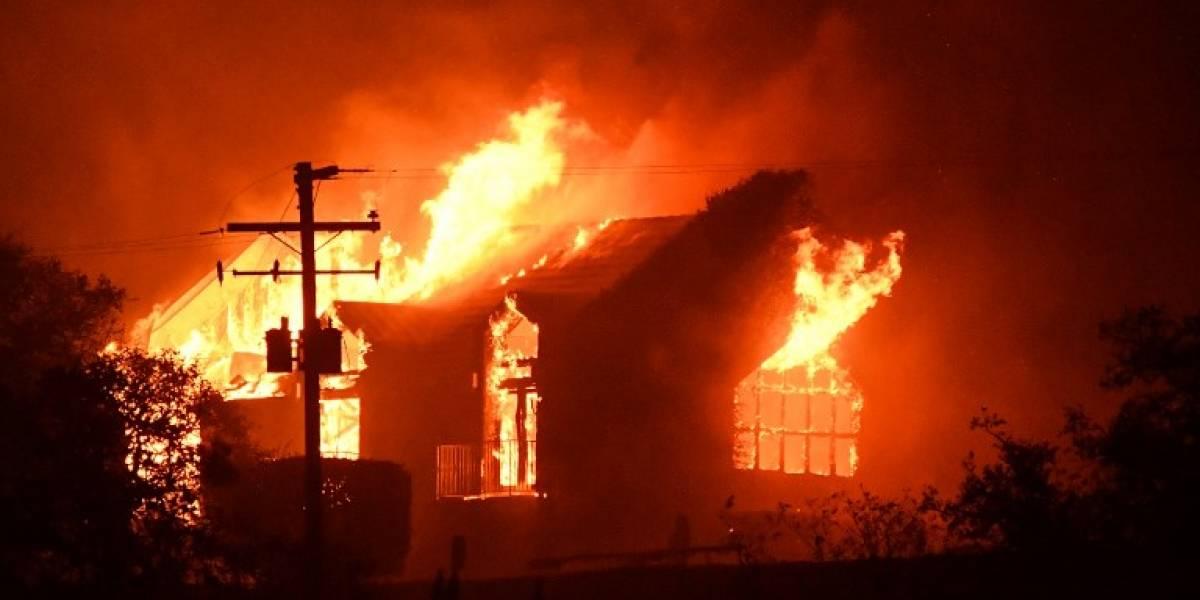 Emergencia por incendios en California que han dejado 15 muertos