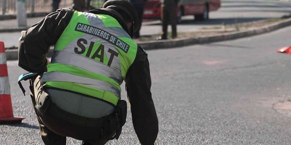 Conductor de 25 años muere al chocar con bus del Transantiago en La Pintana